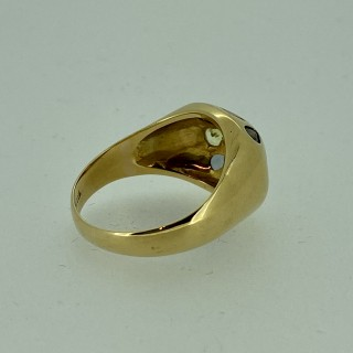 18ct Gold Multi Gem Cocktail Ring