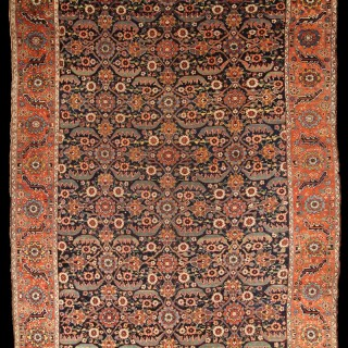 Antique Senna Kurdistan Carpet