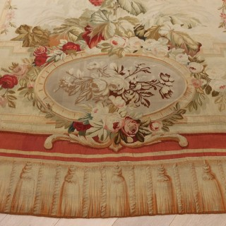 "French Aubusson Tapestry  "" Entre Fenetre"