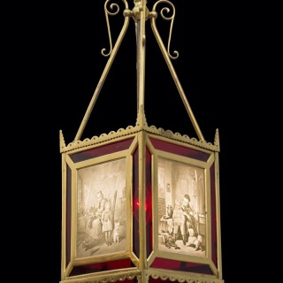 A HIGHLY UNUSUAL VICTORIAN PERIOD LANTERN
