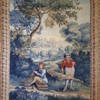 French Lille Tapestry