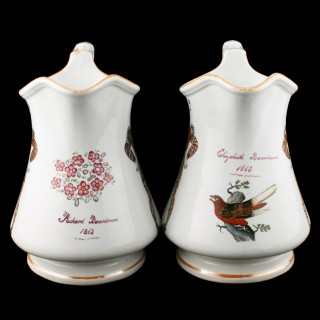 Pair of Elsmore & Forster Puzzle Jugs