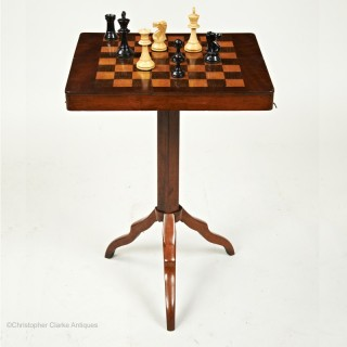 Tripod Campaign  Chess Table