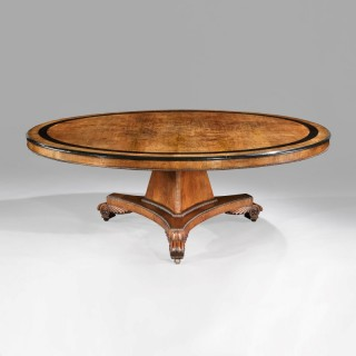 A Rare Monumental Centre Table of the Late Georgian Period Attributed to William Trotter of Edinburgh