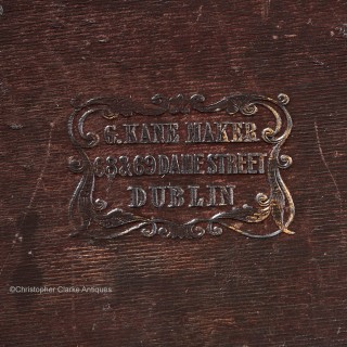 Campaign Secretaire Chest by Gregory Kane