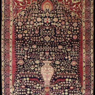 Persian Kirman ' Millie Fleurs' Rug