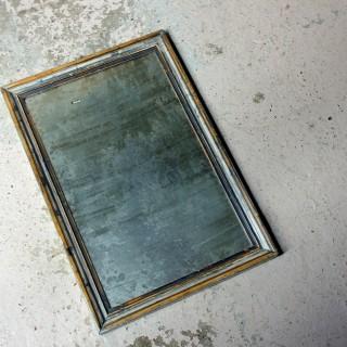 A 19thC Italian Silver Gilt Rectangular Wall Mirror c.1870