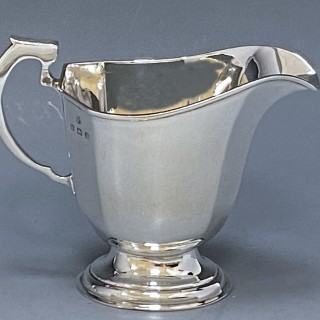 Sterling Silver Art Deco Tea and Coffee Service made in 1938  William Neale and Son of Birmingham