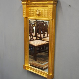 William IV Carved Giltwood Pier Mirror