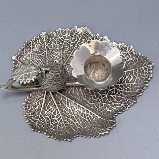Antique Silver George IV Taperstick made in 1829   Joseph Willmore of Birmingham