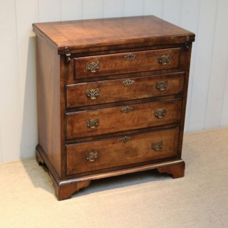 Small Proportioned Walnut Batchelors Chest