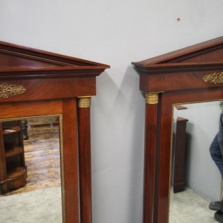 Pair of Large Second Empire Mirrors