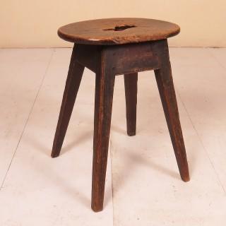 18th Century Ash Stool