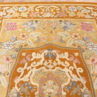 English Pontremoli Needlework Carpet
