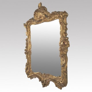 Pair of small Giltwood Mirrors