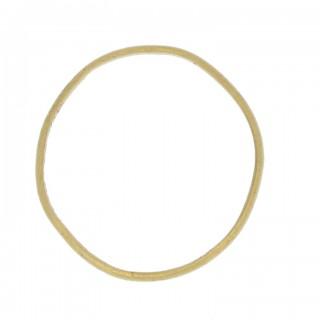 Georgian gold posy ring 'If I can merit I shall inherit', circa 18th century.