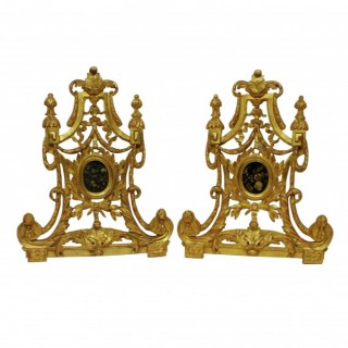 A PAIR OF LARGE XVIII CENTURY ITALIAN RELIQUARIES
