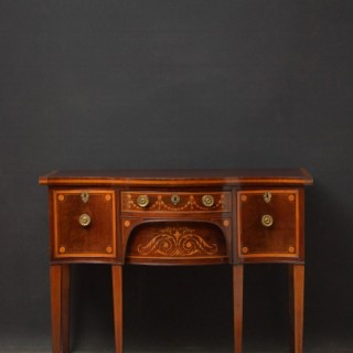 Georgian Mahogany and Inlaid Sideboard Edwards & Roberts