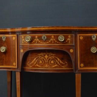 Georgian Mahogany and Inlaid Sideboard Edwards & Roberts