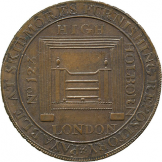 MIDDLESEX, SKIDMORE, FOUNDRY TOKEN, 1791