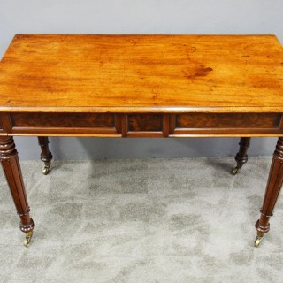 George IV Mahogany Side Table