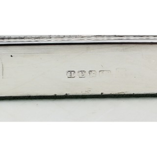 Pair Antique Victorian Silver Plated Corinthian Column Table Lamps 19th C