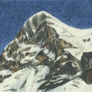 Eiger by Moritz Baumann