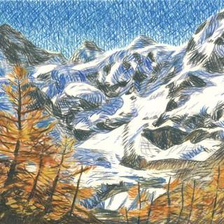 In Valais  by  Moritz Baumann