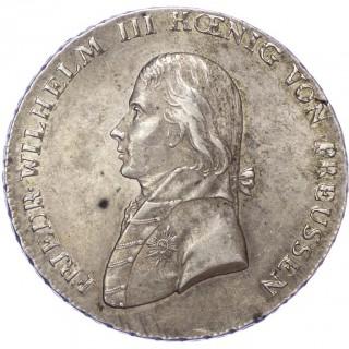 GERMANY, PRUSSIA, FRIEDRICH WILHELM III, 1809 SILVER TALER