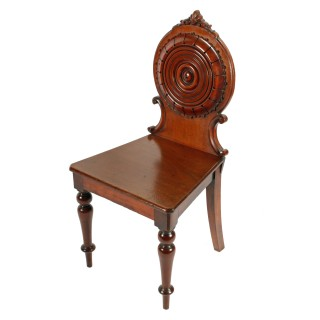 Pair of Victorian Hall Chairs