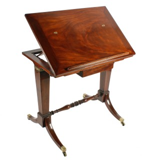 Georgian Architect's Table Stamped Gillows