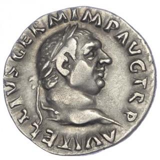 VITELLIUS, SILVER DENARIUS
