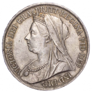 VICTORIA (1837-1901), 1899, CROWN, LXIII EDGE