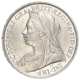 VICTORIA (1837-1901), 1898, CROWN, LXII EDGE