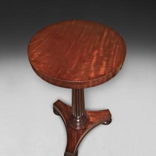 Regency Mahogany Circular Wine Table