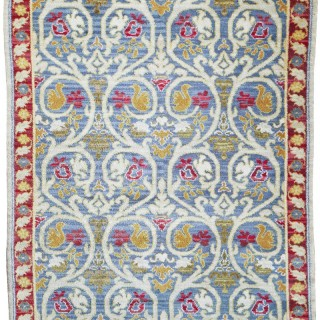 Antique Cuenca Spanish rug