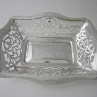 Antique George VI Sterling silver dish
