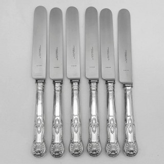 Antique Silver Knives