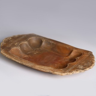 Ancient Roman Terracotta Shellfish Lanx Platter
