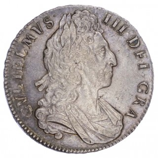 WILLIAM III (1694-1702), CROWN, 1700, DVODECIMO EDGE