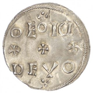 EDWARD THE ELDER (899-924), PENNY, TWO LINE TYPE, UNCERTAIN MONEYER