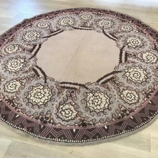 Emile Jacques Ruhlmann  Circular Carpet