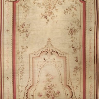 Large French Aubusson Carpet