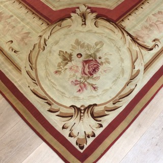 Large French Aubusson Carpet