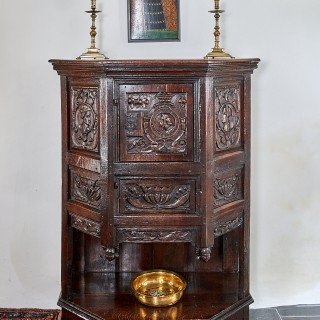 Henry VIII canted cupboard