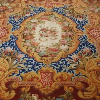 Exquisite French Aubusson Carpet