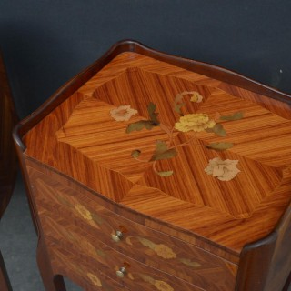 Pair of Kingwood Bedside Cabinets Chests