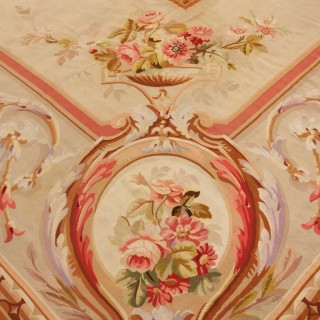 Exquisite French Aubusson Carpet