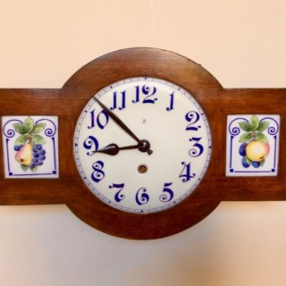 Late 19th Century Wall Clock