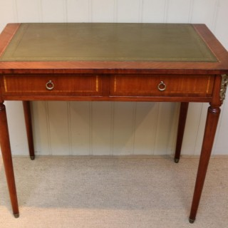 French Mahogany Writing Desk